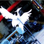 The Phoenix Maquette, part of the Resurgens Phoenix project
