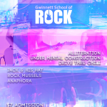 School of Rock Concert Poster